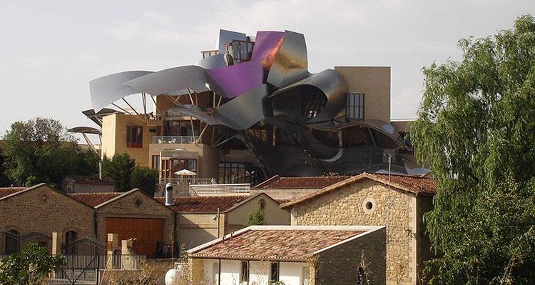 Hotel de las Bodegas Marqués de Riscal